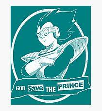 God Save The Prince Photographic Print