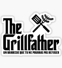 The Grillfather (fra) Sticker