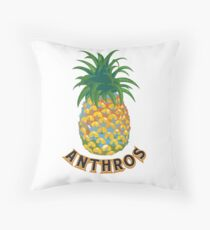 Anthros Pineapple 2 Throw Pillow