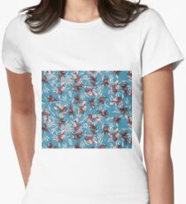 iris orchid japanese patter T-Shirt