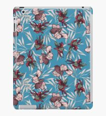 iris orchid japanese patter iPad Case/Skin