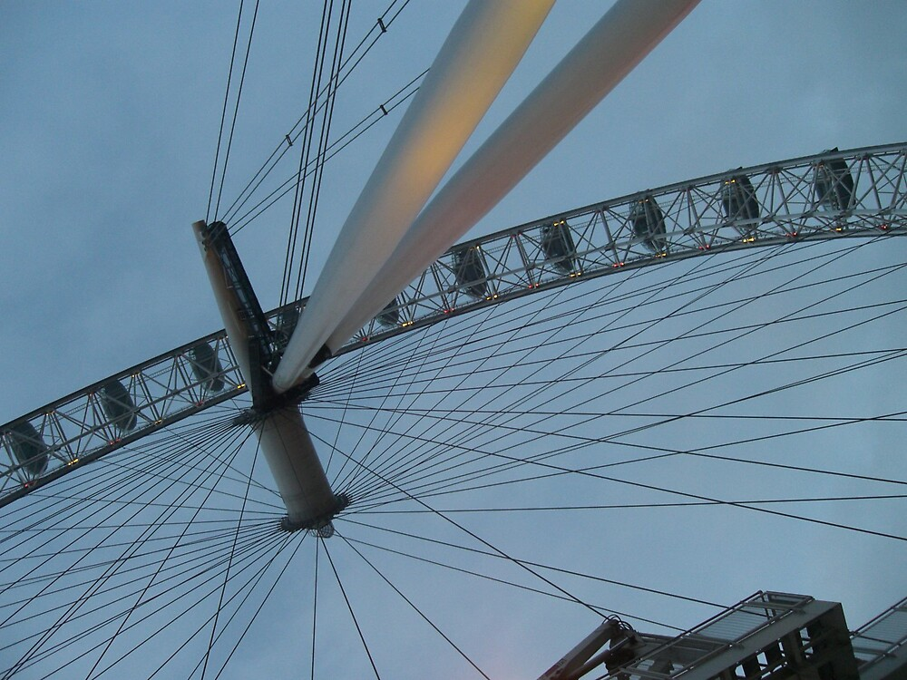 Millenium Wheel London by Deeful