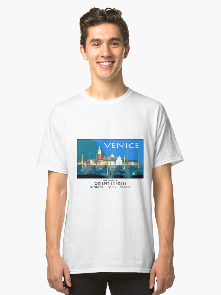 Alternate view of Vintage travel poster - Venice Classic T-Shirt