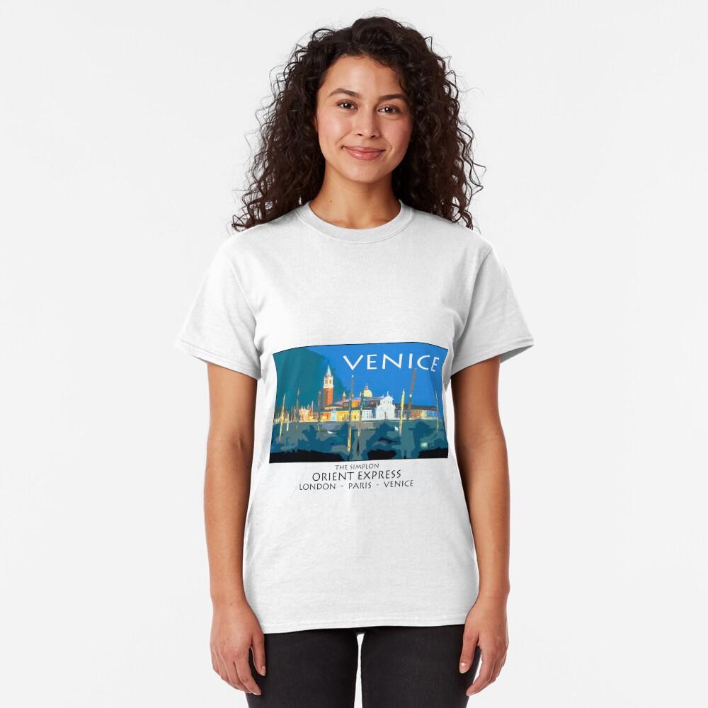 Vintage travel poster - Venice Classic T-Shirt
