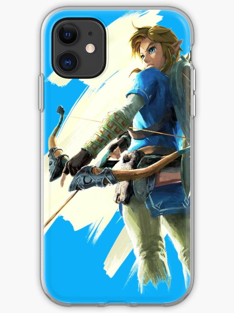 Zelda Link Game iphone case