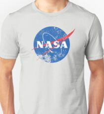 Distressed NASA Logo Unisex T-Shirt