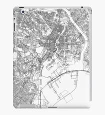 Streets - Tokyo (Black on White) iPad Case/Skin