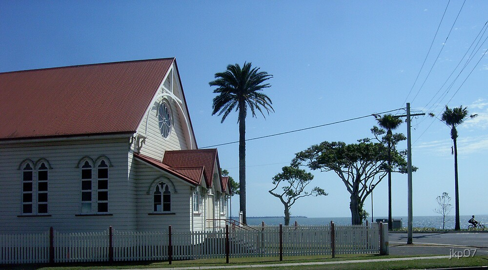 Church on Sea by jkp07