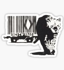 bar the tiger Sticker