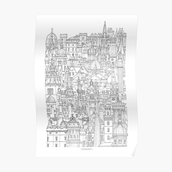 Edinburgh, Scotland  Poster