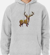 Pixel Stag (Individual) Pullover Hoodie