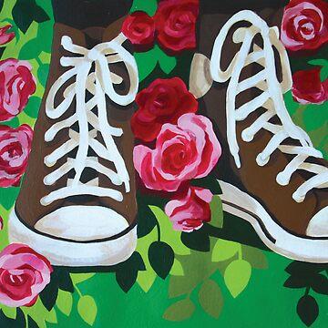 Autumn roses by Talvikki