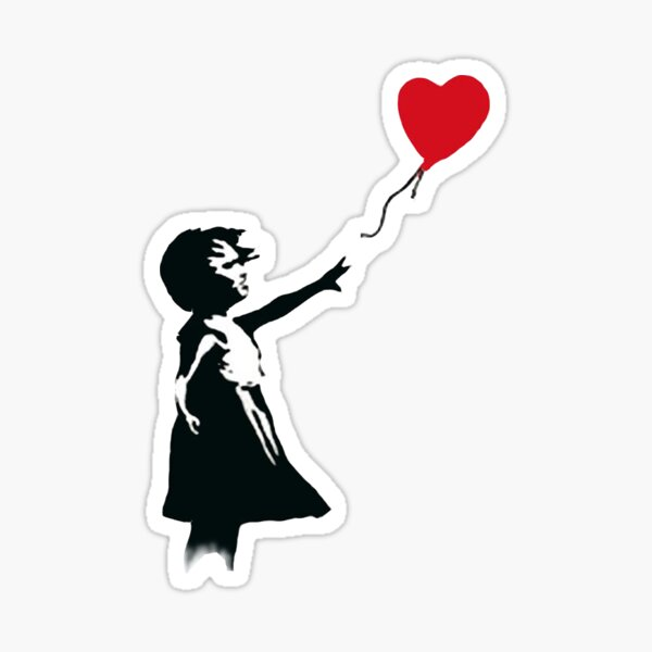 let your heart fly Sticker