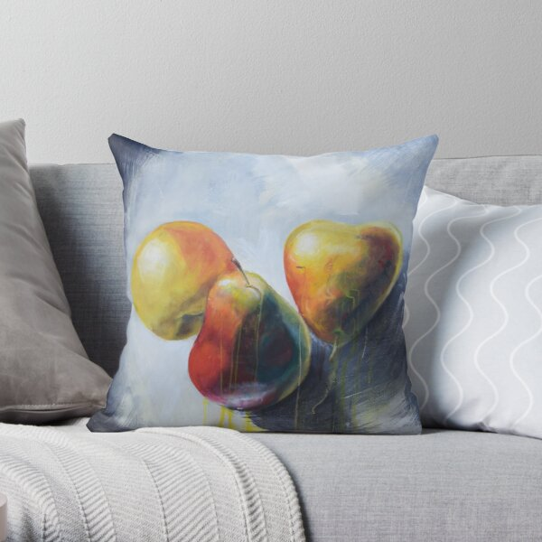 Pears 3 Throw Pillow
