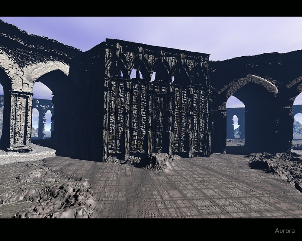 Ancient ruins 2 by Aurora