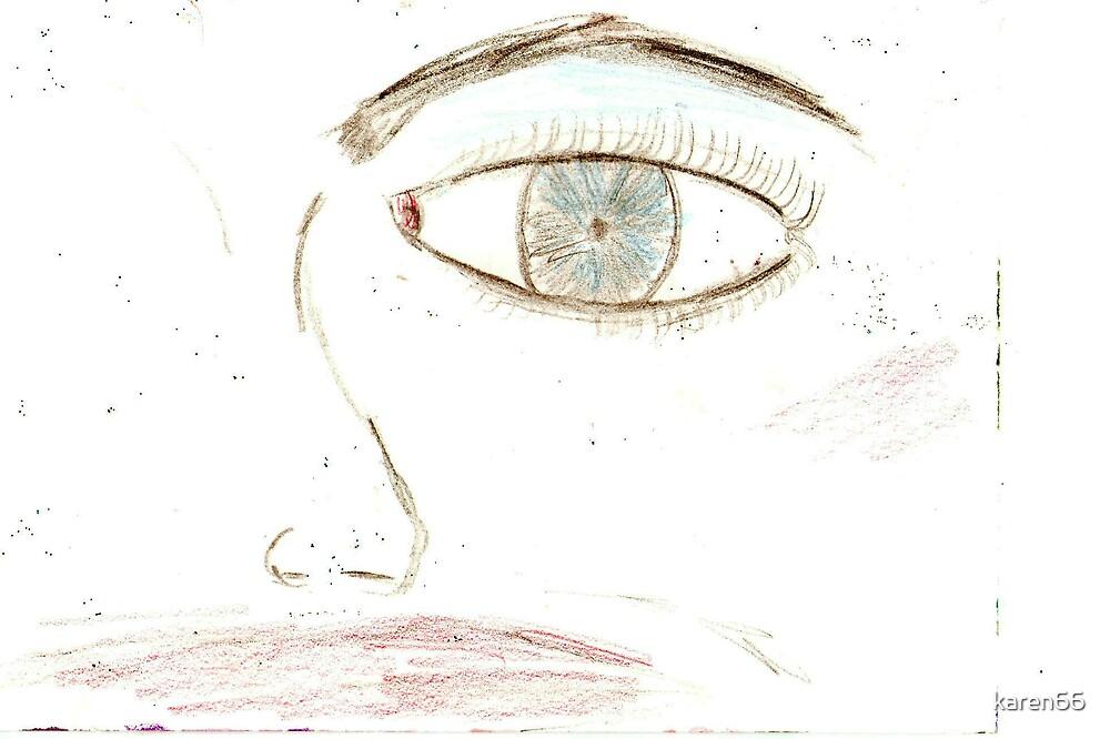 Half of a Profile by karen66