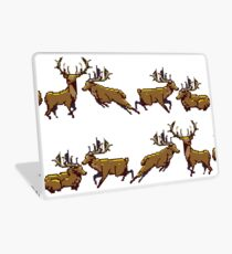 Pixel Stag (Pattern) Laptop Skin