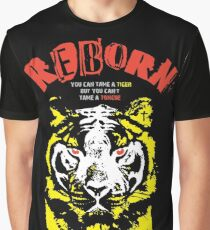 Reborn X Tiger (James 3:7-17) on black Graphic T-Shirt