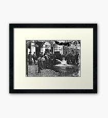 Steam Engine Automobile Framed Print