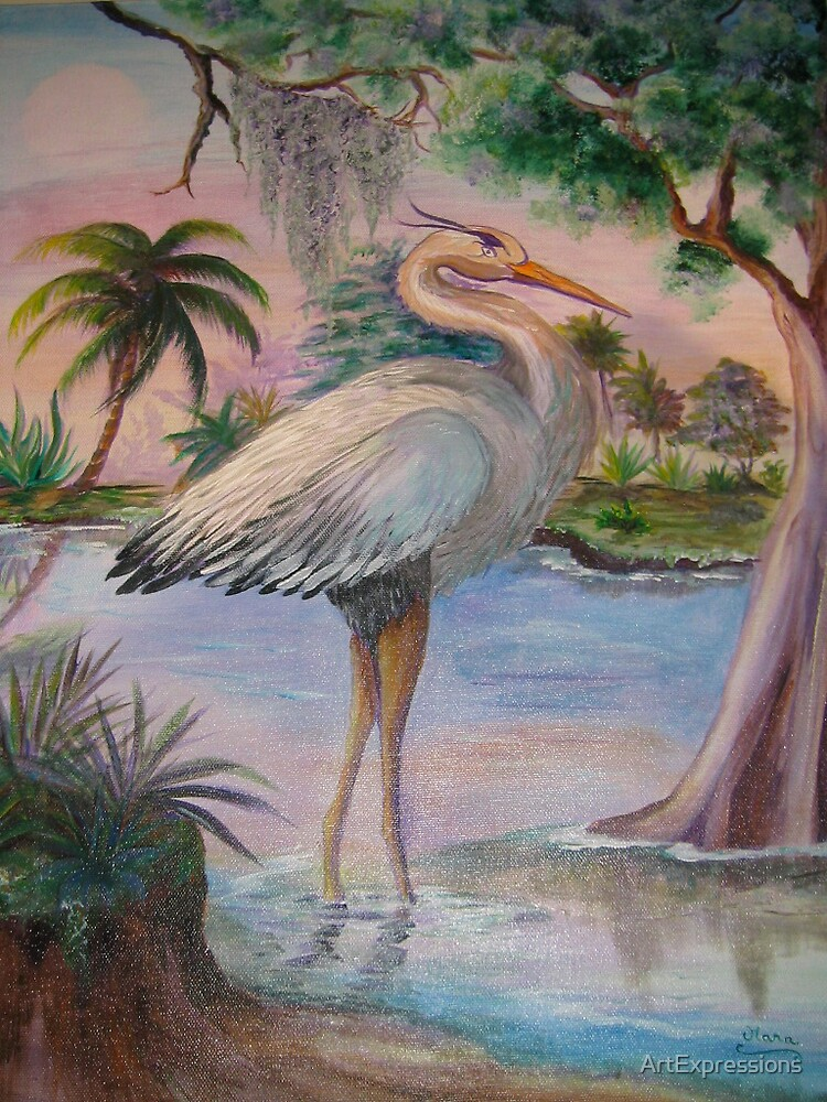 Everglades Sunset by ArtExpressions