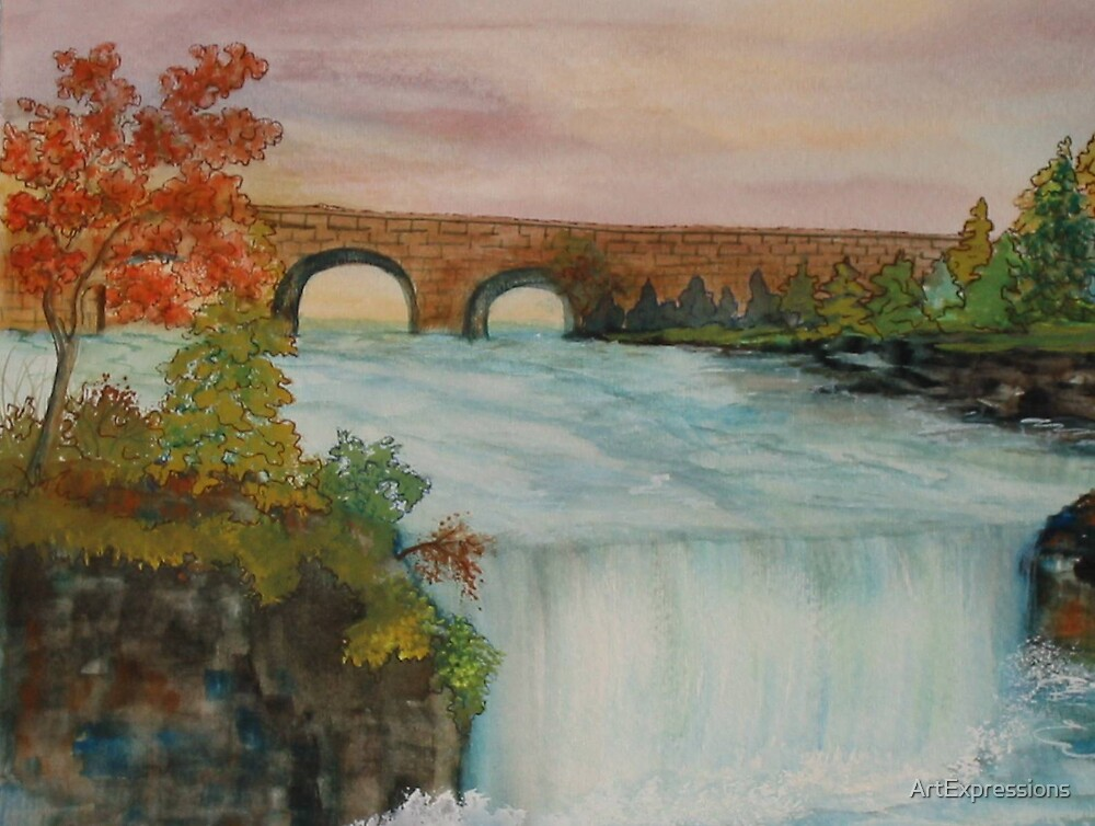 Eagle Falls Kentucky by ArtExpressions