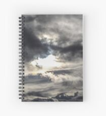sky wave  Spiral Notebook
