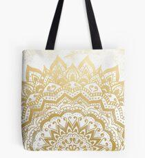 GOLD ORION JEWEL MANDALA Tote Bag