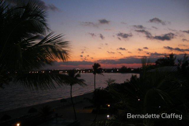 Sunrise, Nassau, Bahamas by Bernadette Claffey