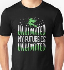 My Future Is Unlimied. Wicked Musical. T-Shirt