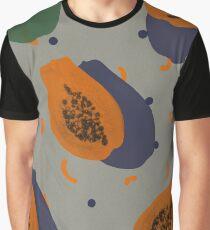 Papaya Graphic T-Shirt