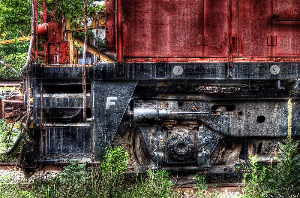 Train Detail by Michael Savad