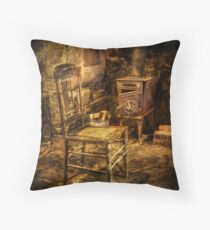 The chair and stove Throw Pillow