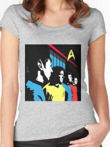 Star Trek Vintage  Women's Fitted Scoop T-Shirt