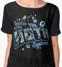 Greetings From Hoth Women's Chiffon Top