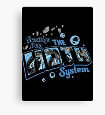 Greetings From Hoth Canvas Print