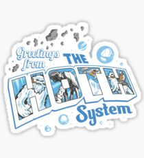 Greetings From Hoth Sticker