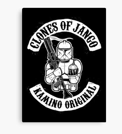 Clones of Jango Canvas Print