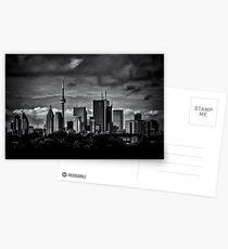 Toronto Skyline From The Pape Ave Bridge No 2 Postcards