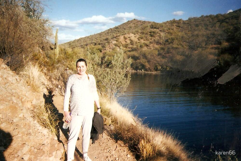 Nine Months Pregnant and Still Hiking by karen66