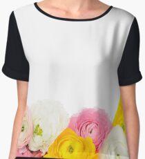 Beautiful floral composition Women's Chiffon Top