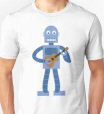 Ukulele Robot Unisex T-Shirt