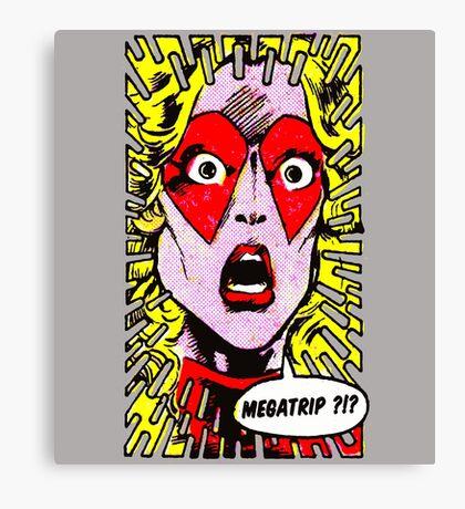 Mari Megatrip Canvas Print