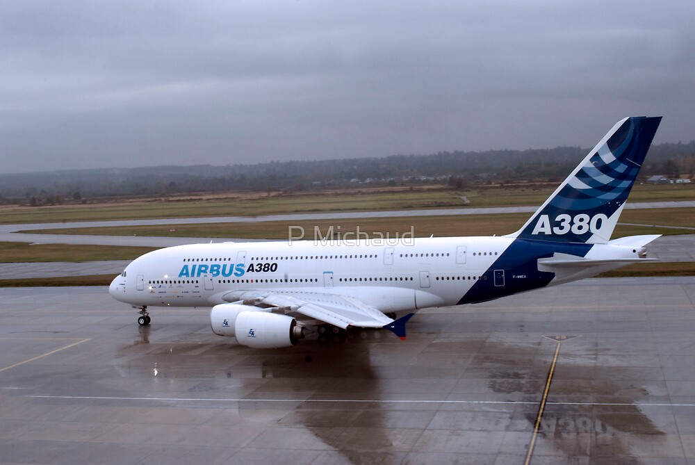 a380- by P Michaud