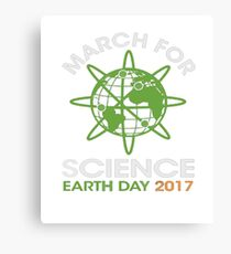 EARTH DAY 2017 MARCH FOR SCIENCE Canvas Print
