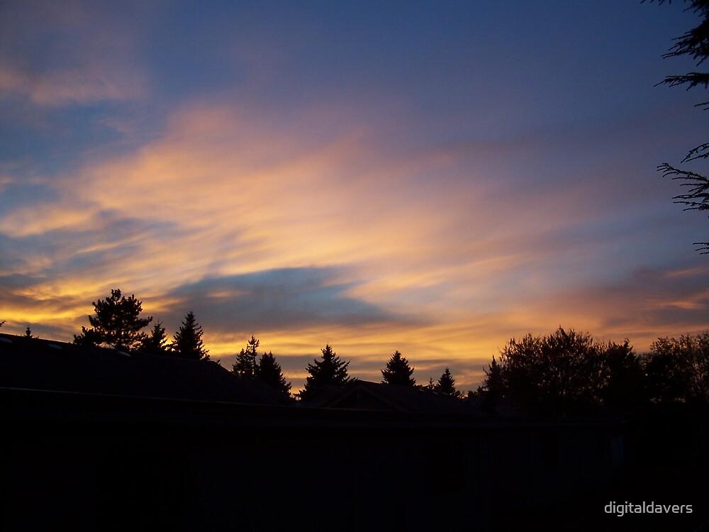 Red Sky at Night by digitaldavers