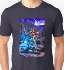 Samus Vs M.Chief T-Shirt