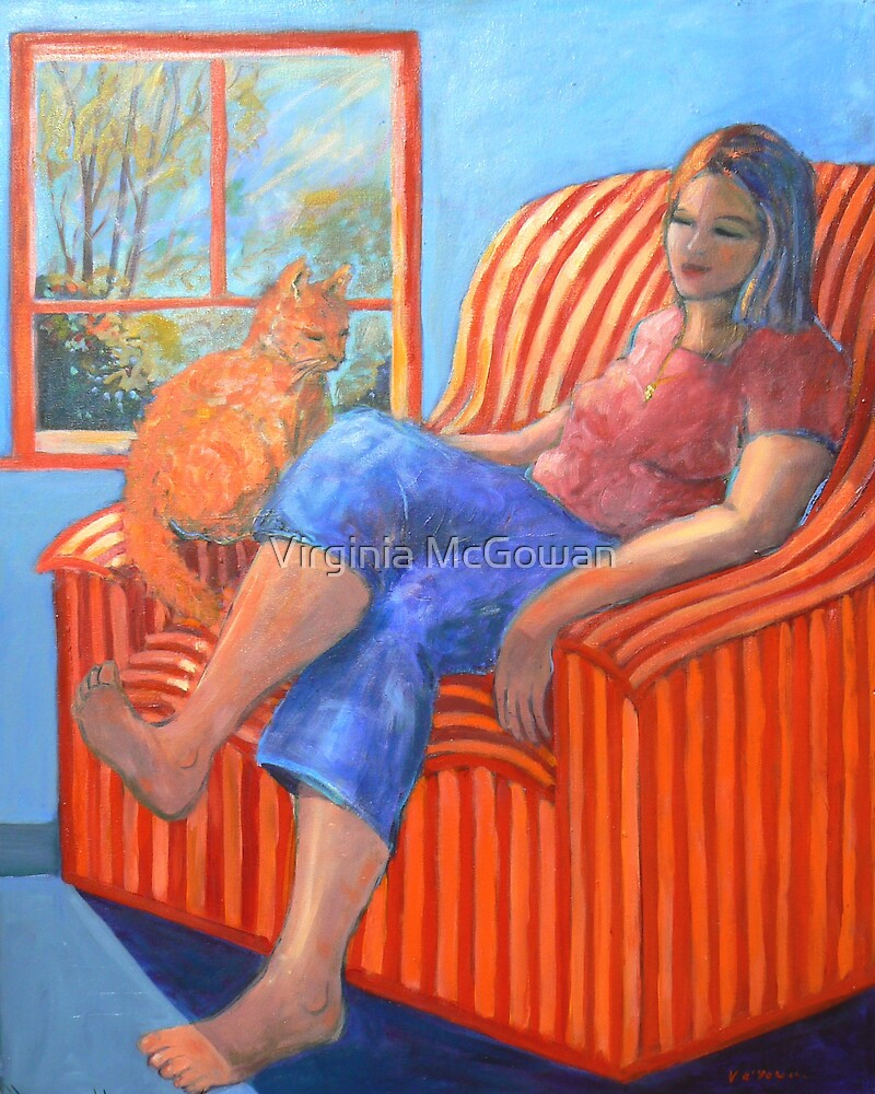 The Ginger Cat  by Virginia McGowan