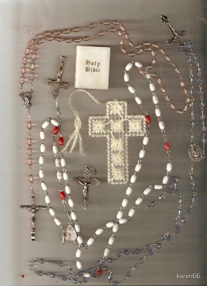 Rosaries and Crosses by karen66