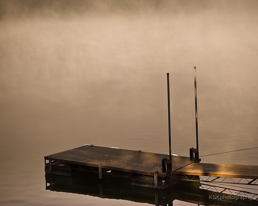 The Lonely Dock by KSKphotography