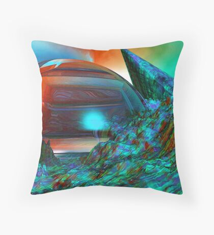 Colour your weekend Throw Pillow